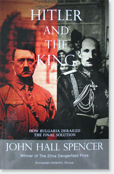 Hitler and The King by John Hall Spencer Front Cover